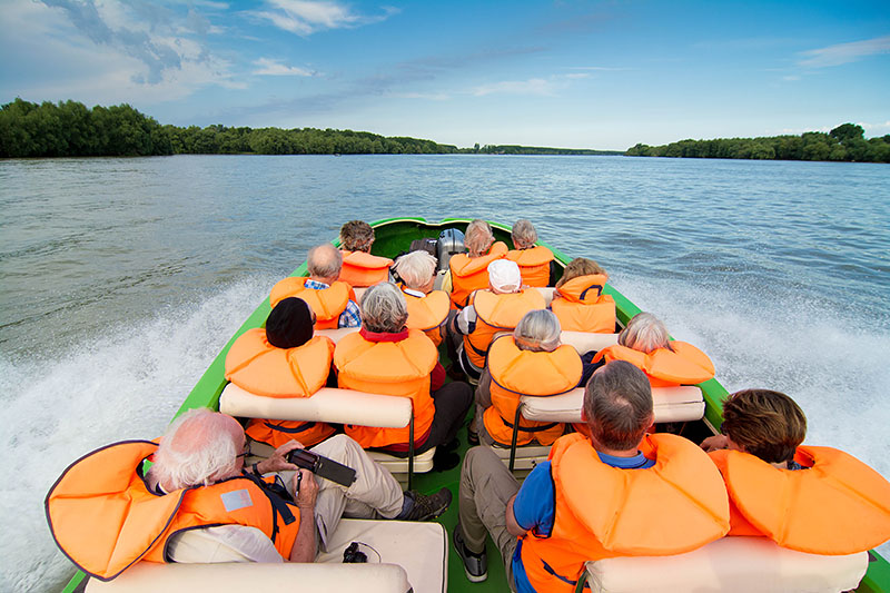 Carpathian Mountains And The Danube Delta Walk Boat And