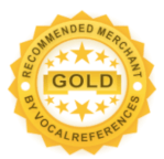 Golden recommended merchant by Vocal References