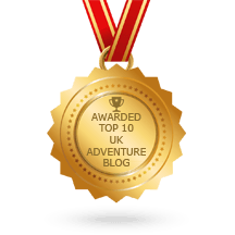 Awarded Top 10 UK Adventure Blog