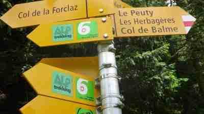Tour du Mont Blanc from Martigny in Comfort 18
