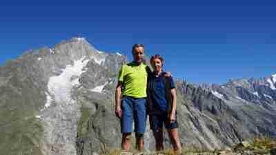 Tour du Mont Blanc from Martigny in Comfort 30