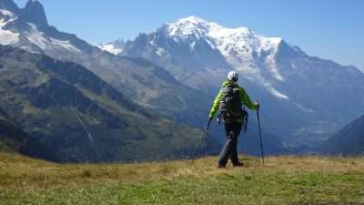 Tour du Mont Blanc from Martigny in Comfort 43