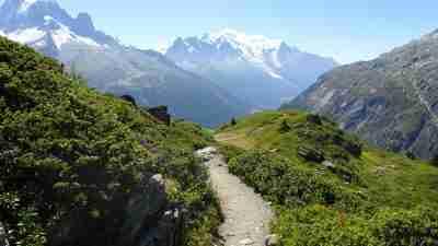 Tour du Mont Blanc from Martigny in Comfort 46