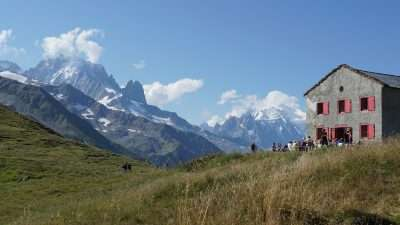 Tour du Mont Blanc from Martigny in Comfort 51