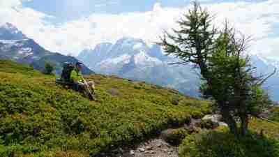 Tour du Mont Blanc from Martigny in Comfort 59