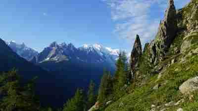 Tour du Mont Blanc from Martigny in Comfort 67