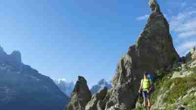 Tour du Mont Blanc from Martigny in Comfort 74