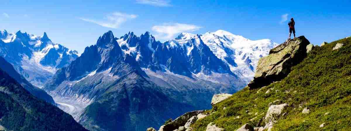 Tour du Mont Blanc from Martigny in Comfort 82