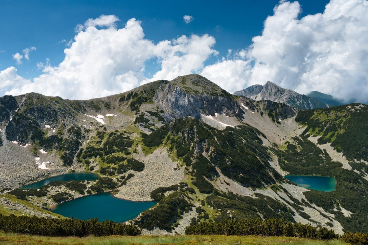 difficulty grades, Bulgarian Alps: Rila and Pirin