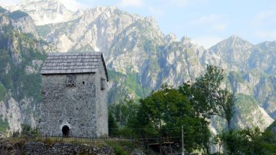 Self guided walking holiday in Albania, Self guided hiking holidays Albanian Alps & Accursed Mountains Albanian alps short break Albania Self Guided Walking Holiday