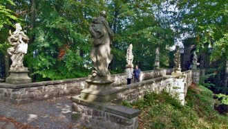 Bohemian paradise self-guided tour Czech Republic Valdstejn entrance