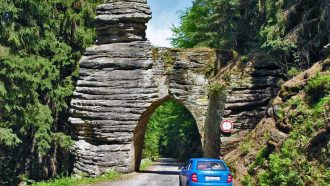 Bohemian paradise self-guided tour Czech Republic road seeing