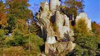 Bohemian paradise self-guided tour Czech Republic tower