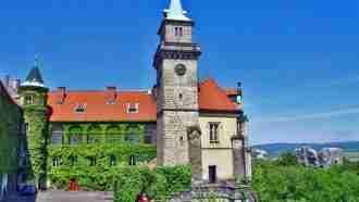 Bohemian paradise self-guided tour Czech Republic Hruba skala