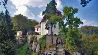 Bohemian paradise self-guided tour Czech Republic Valdstejn