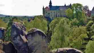 Bohemian paradise self-guided tour Czech Republic Hruboskalske Rock town
