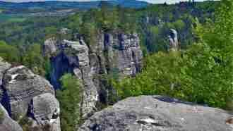 Bohemian paradise self-guided tour Czech Republic Rock town scenery