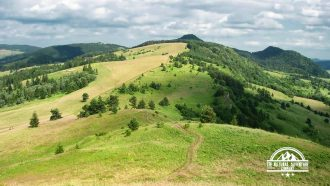 self guided hiking, Carpatian mountains, Poland, border in magura spiska 2