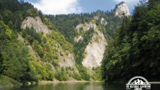 self guided hiking, Carpatian mountains, Poland, Dunajec gorge 1