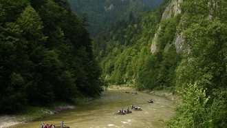 self guided hiking, Carpatian mountains, Poland, Dunajec gorge 3