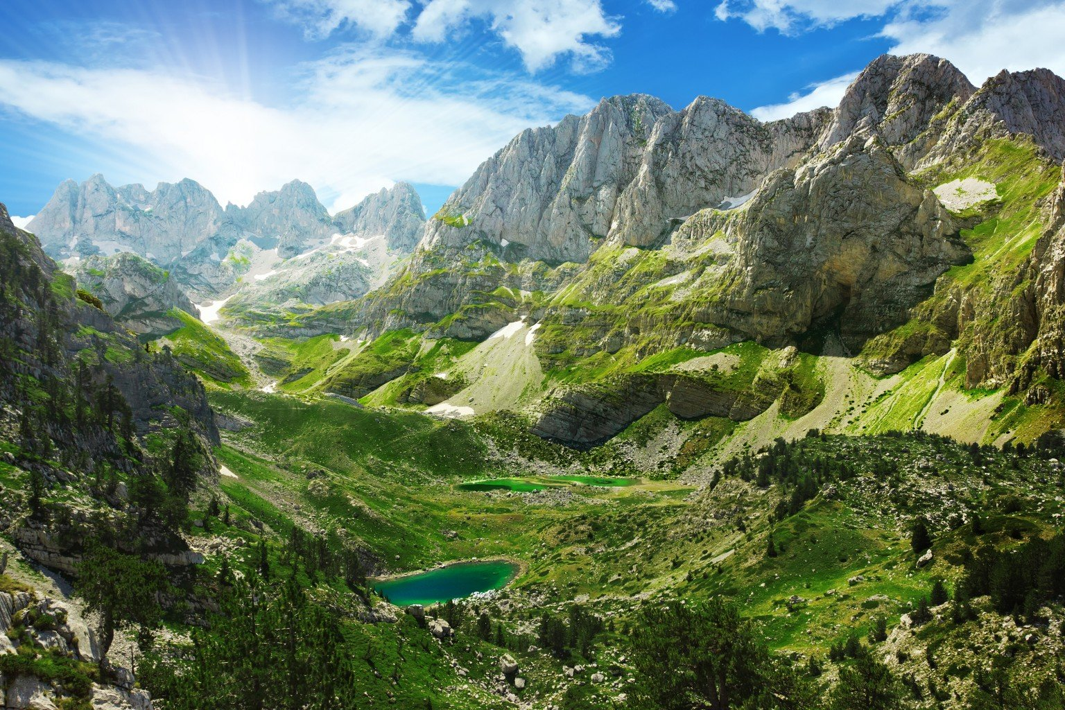 walking holidays in the Balkans, the Balkans, self guided walking in the Balkans, self guided walking holidays in the Balkans, Albanian Alps Walking Holiday