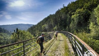 Self-guided walking holiday, Croatia, on the old railway road