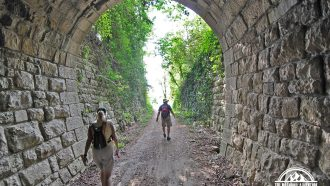 Self-guided walking holiday, Croatia, on the old railway road 3