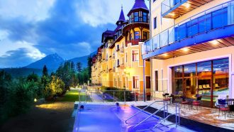 In Style: Trails and Spa, luxury walking holidays, luxury self guided walking holidays, The High Tatras In Style, Slovakian Alps: High Tatras in Style Slovakia self guided walking holiday High Tatras Relaxed Slovakia Walking Holiday