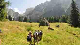 Bucegi Natural Park - Valea Gaura