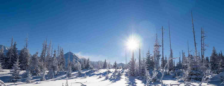 Eastern Carpathians Winter Walking Holiday, Bieszczady Eastern Carpathians Self Guided Walking Holiday,