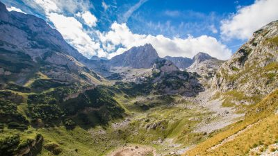 The Mountains of Albania and North Montenegro