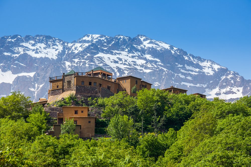 morocco walking holidays, walking holidays in morocco, High Atlas and Marrakech in Comfort