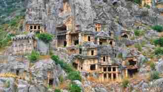Lycian Way in the East Myra