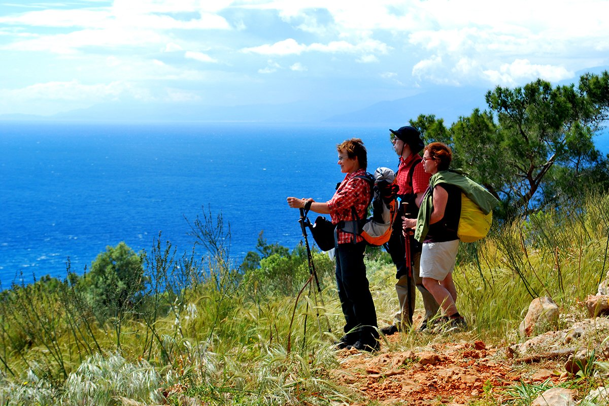 The Lycian Way in Turkey and Kate Clow