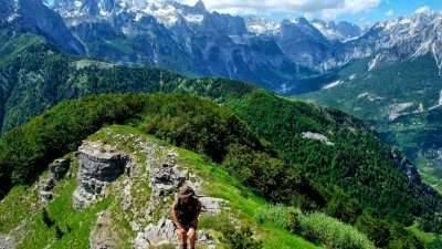 Trails of Albanian Alps 9