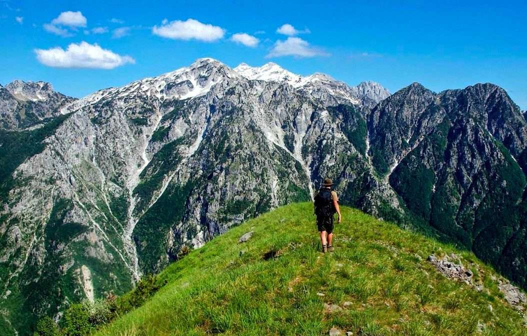 Trails of Albanian Alps 11