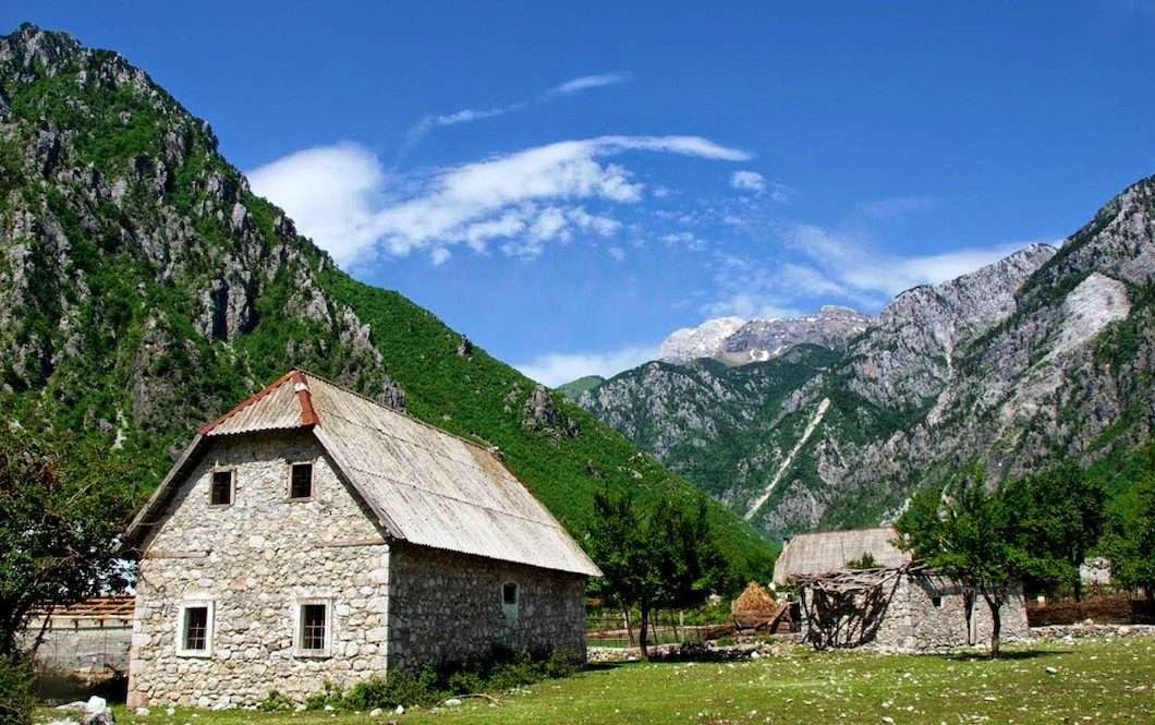Trails of Albanian Alps 12
