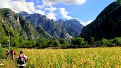 Trails of Albanian Alps 24