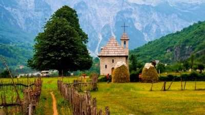 Trails of Albanian Alps 25