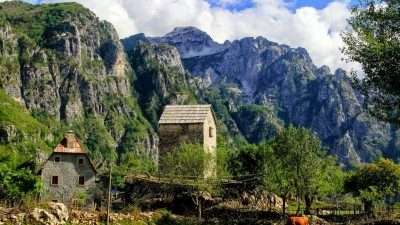 Trails of Albanian Alps 29