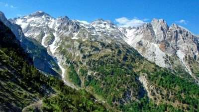 Trails of Albanian Alps 33