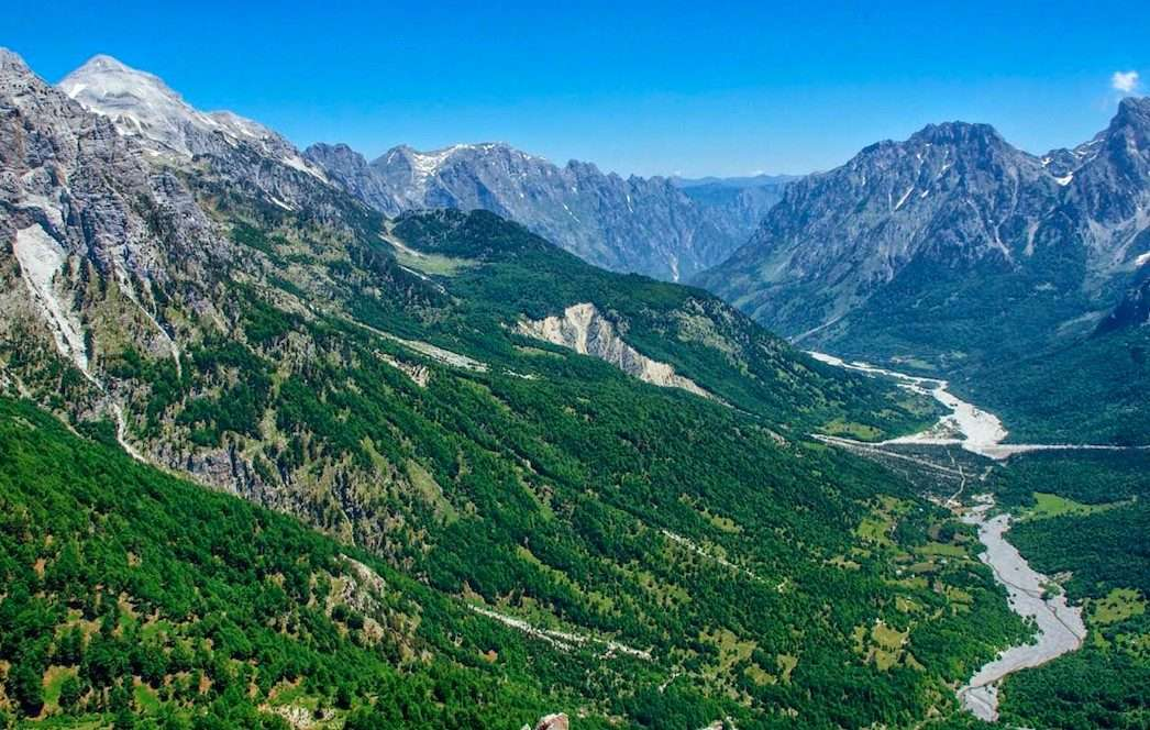 Trails of Albanian Alps 34