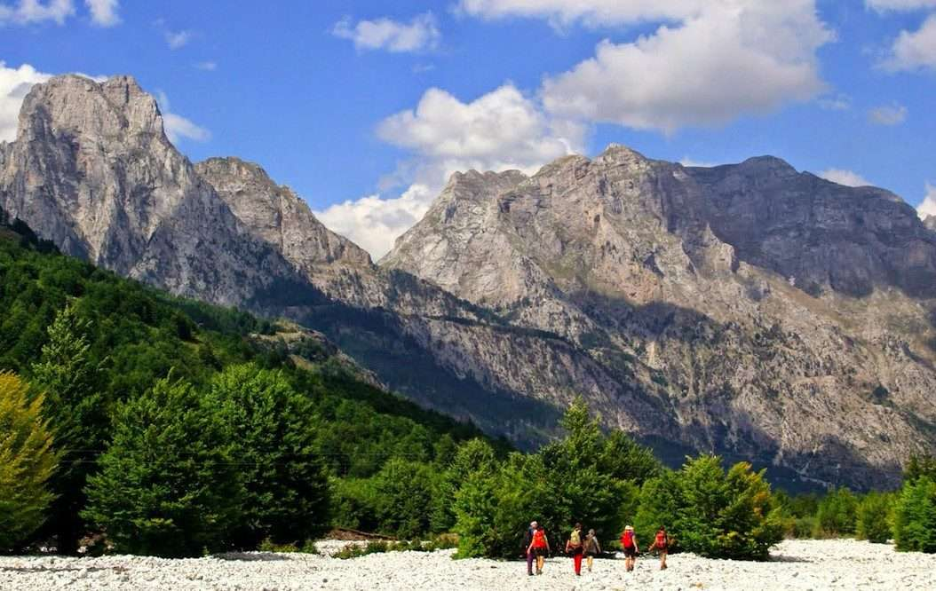 Trails of Albanian Alps 35