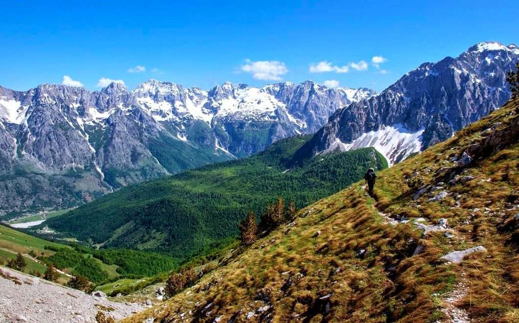 Trails of Albanian Alps 39
