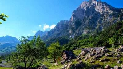 Trails of Albanian Alps 41
