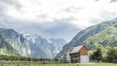 Trails of Albanian Alps 47