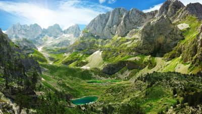 Trails of Albanian Alps 46