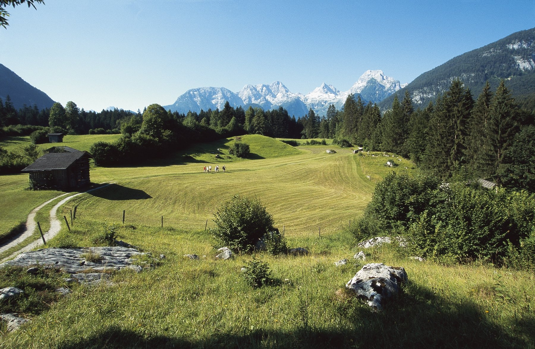 guided walking holidays in austria
