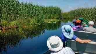 Danube Delta - on channels