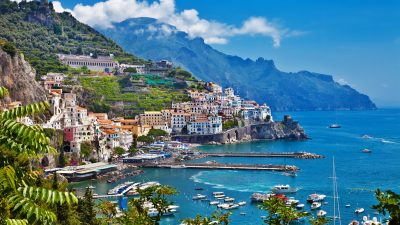 iconic walks, italy walking holidays, Amalfi and Sorento Coast to Coast